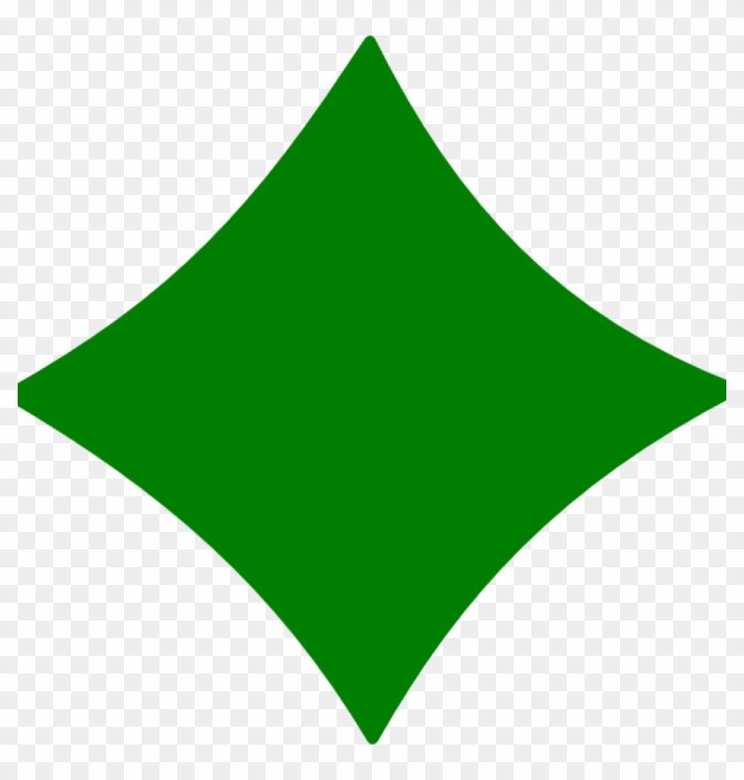 Diamond Shape Clipart Diamond Green Clip Art At Clker - Ethereum #21128