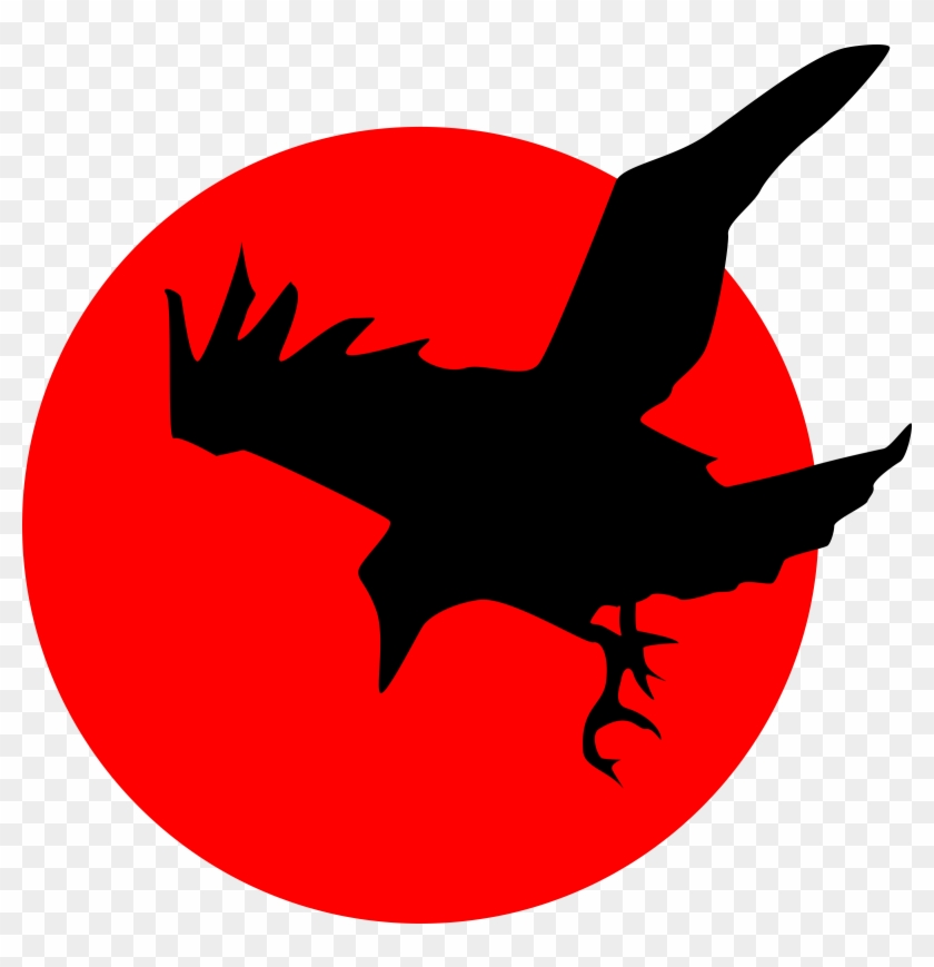 Harvest Moon Clipart Creepy - Raven Clipart #21160