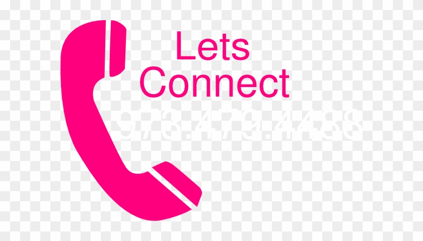 Telephone Lets Connect Clip Art - Telephone Vector #21161