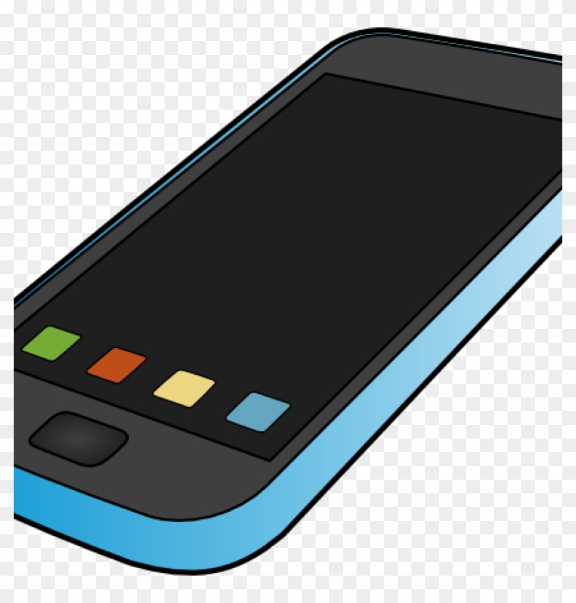 Mobile Phone Clipart Smartphone Clip Art At Clker Vector - Smartphone #21185