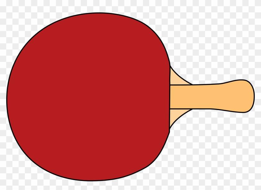 Tennis Racquet - Table Tennis Bat Clipart #21199