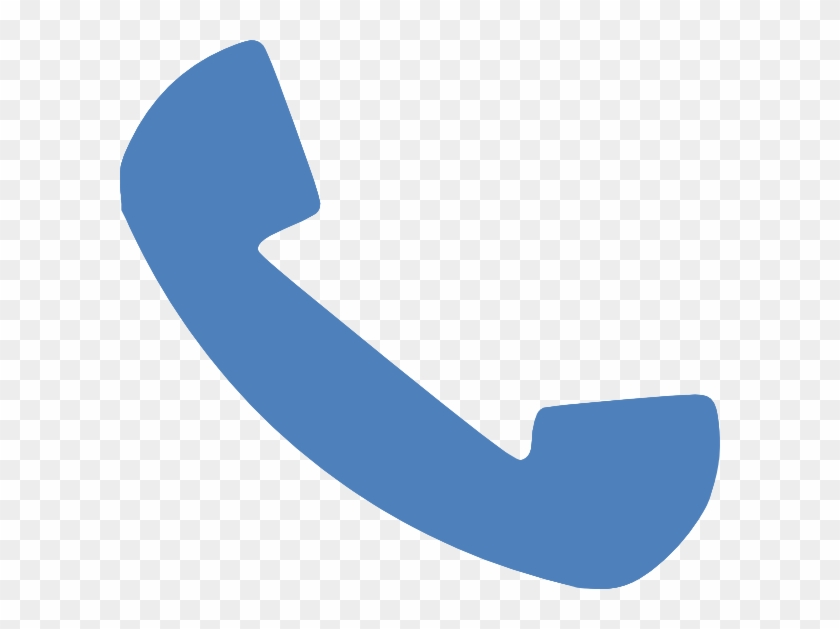 Blue Phone Clip Art At Clker - Phone Clipart Blue #21223