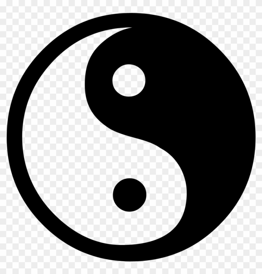 Chinese Good And Bad Symbol #21247