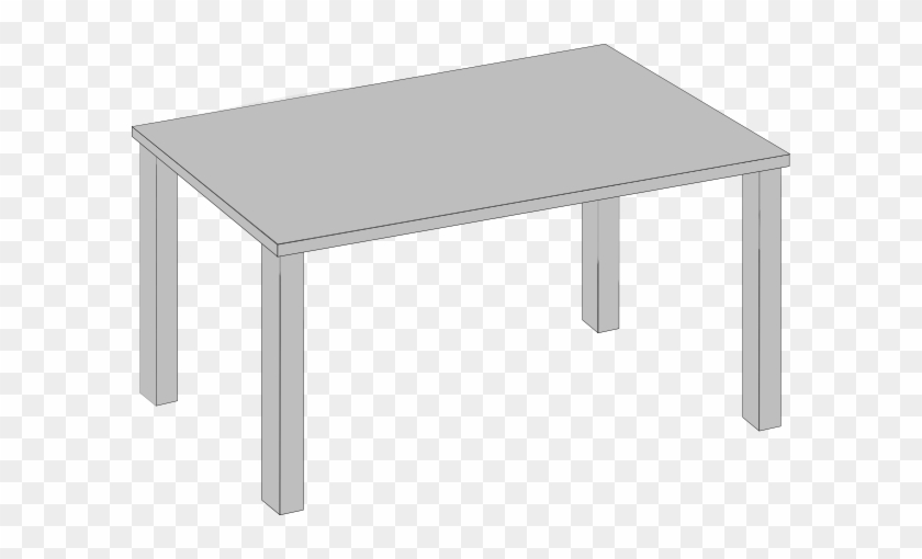 Clear Table Clipart With Table Clip Art At Clker - Table Clip Art #21269