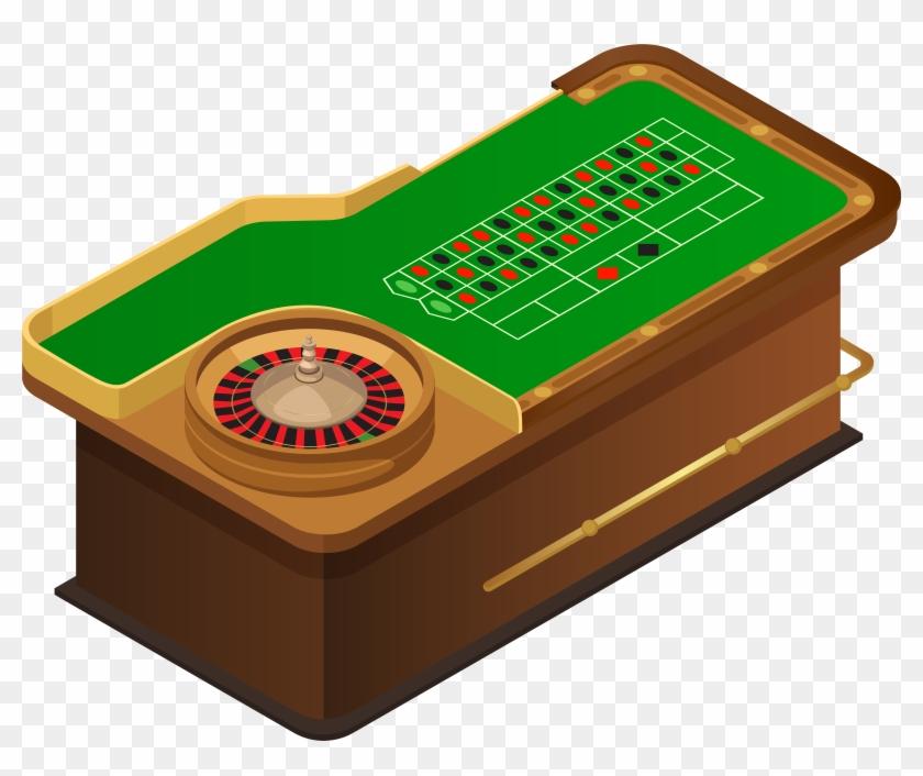 Roulette Table Png Clip Art - Roulette Table Png Clip Art #21317