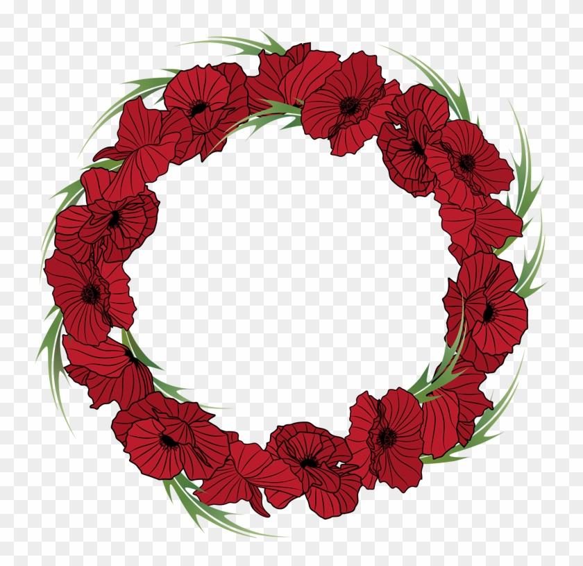 Wild Turkey Clip Art - Fall Floral Wreath Clipart #21314