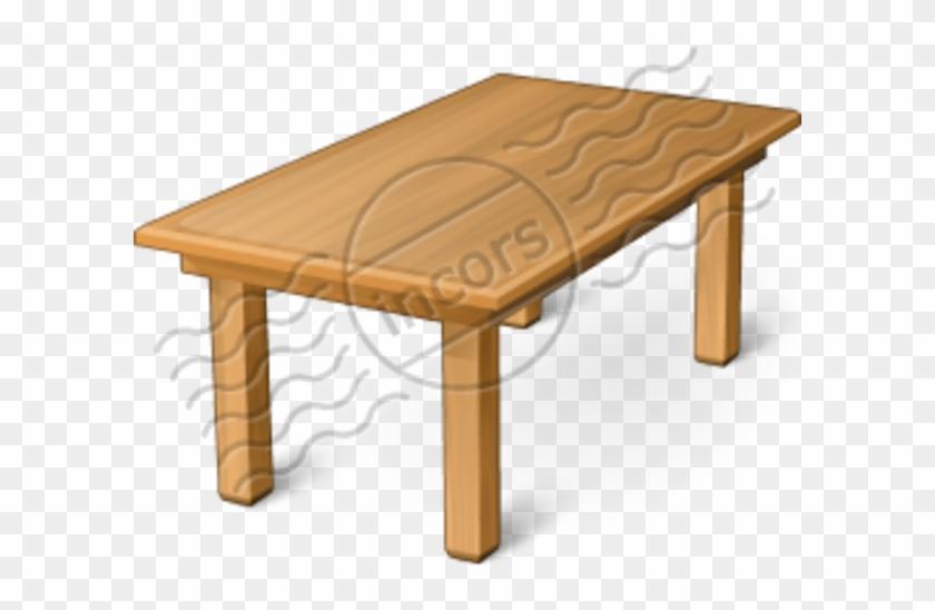 Table Clip Art - Table Icon #21345