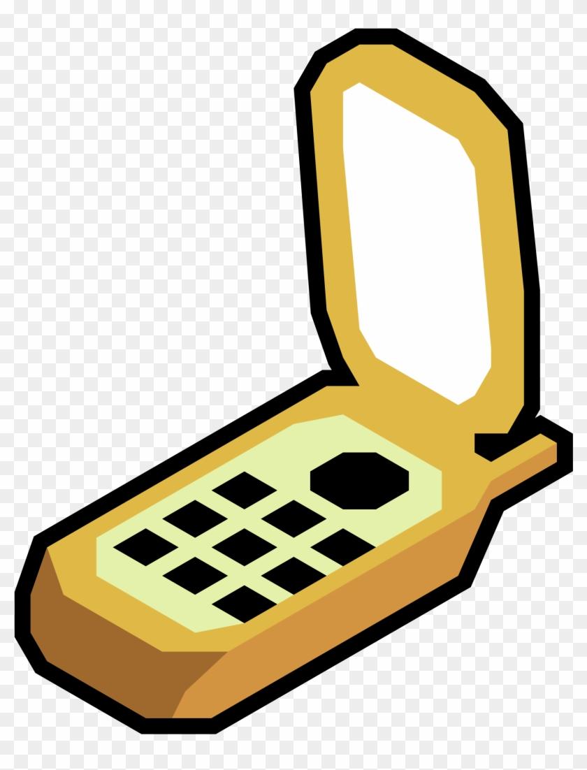 Big Image - Cartoon Flip Phone Transparent #21362