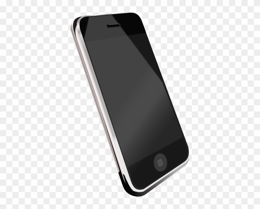 Modern Cell Phone Clip Art At Clker - Cell Phone Clipart Png #21388
