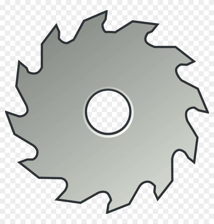 Circular Saw Table Saws Blade Clip Art - Circular Saw Table Saws Blade Clip Art #21470