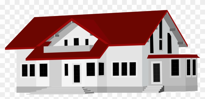 Large House Png Clip Art - House Png Clipart #21436