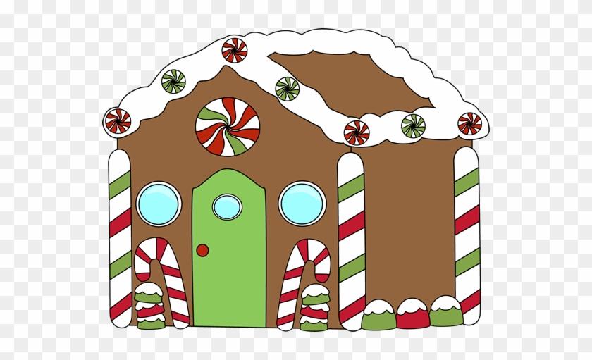 Gingerbread Clip Art Free - Ginger Bread House Clip Art #21443