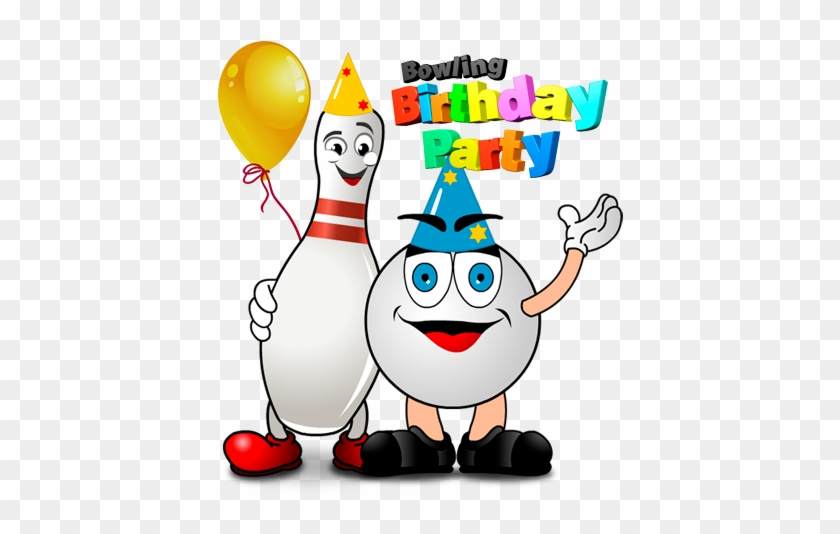 Bowling Birthday Party Clip Art #21452