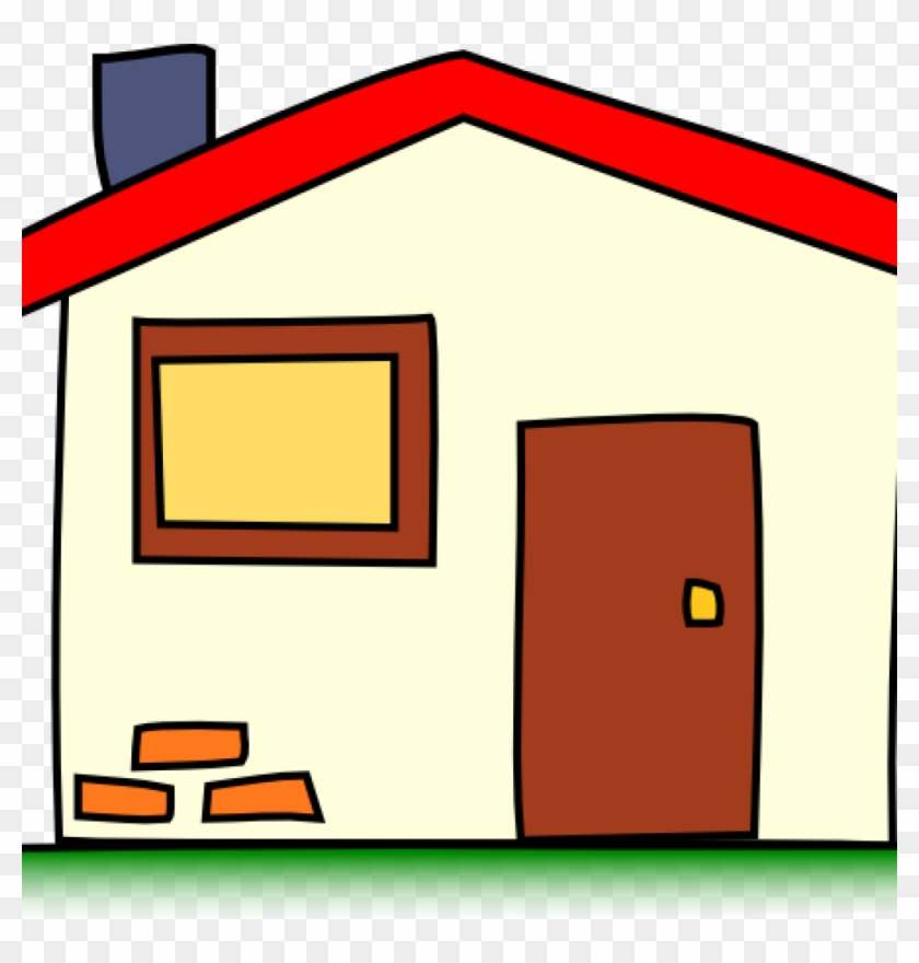 House Clipart My House Clip Art At Clker Vector Clip - Home Clipart Transparent Background #21459