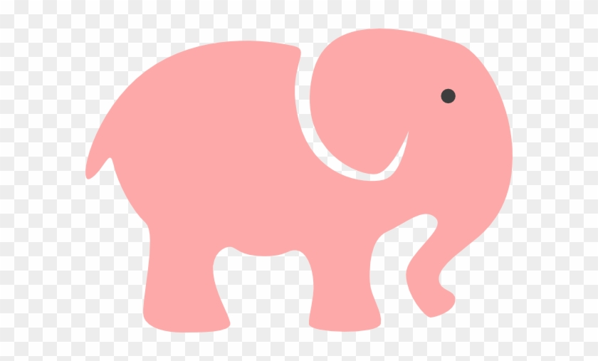 Elephant Clipart Baby Shower - Grey Baby Shower Elephant #21462