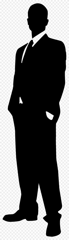 Clipart Silhouette Man - Man Clipart Black #21469