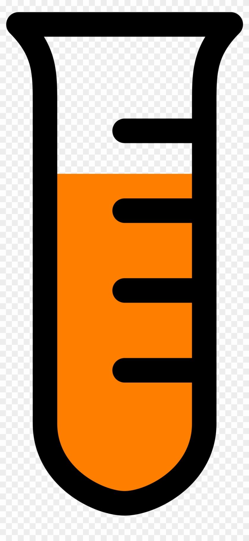 Laboratory Clipart Icon - Beaker Cartoon #21480
