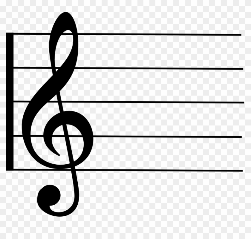 Music Staff Online - Right Hand Music Note #21493
