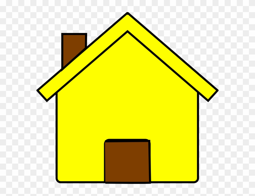 Yellow House Clipart #21528