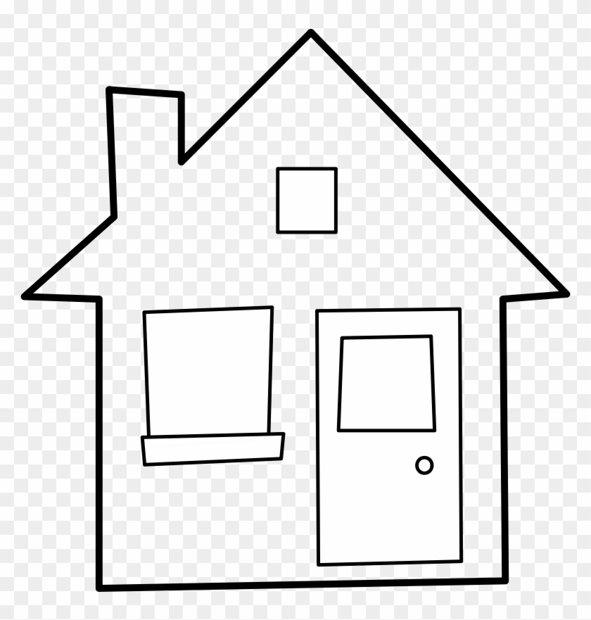 Pix For Clipart House Outline Clip Art Library - Heart Of The Home #21539