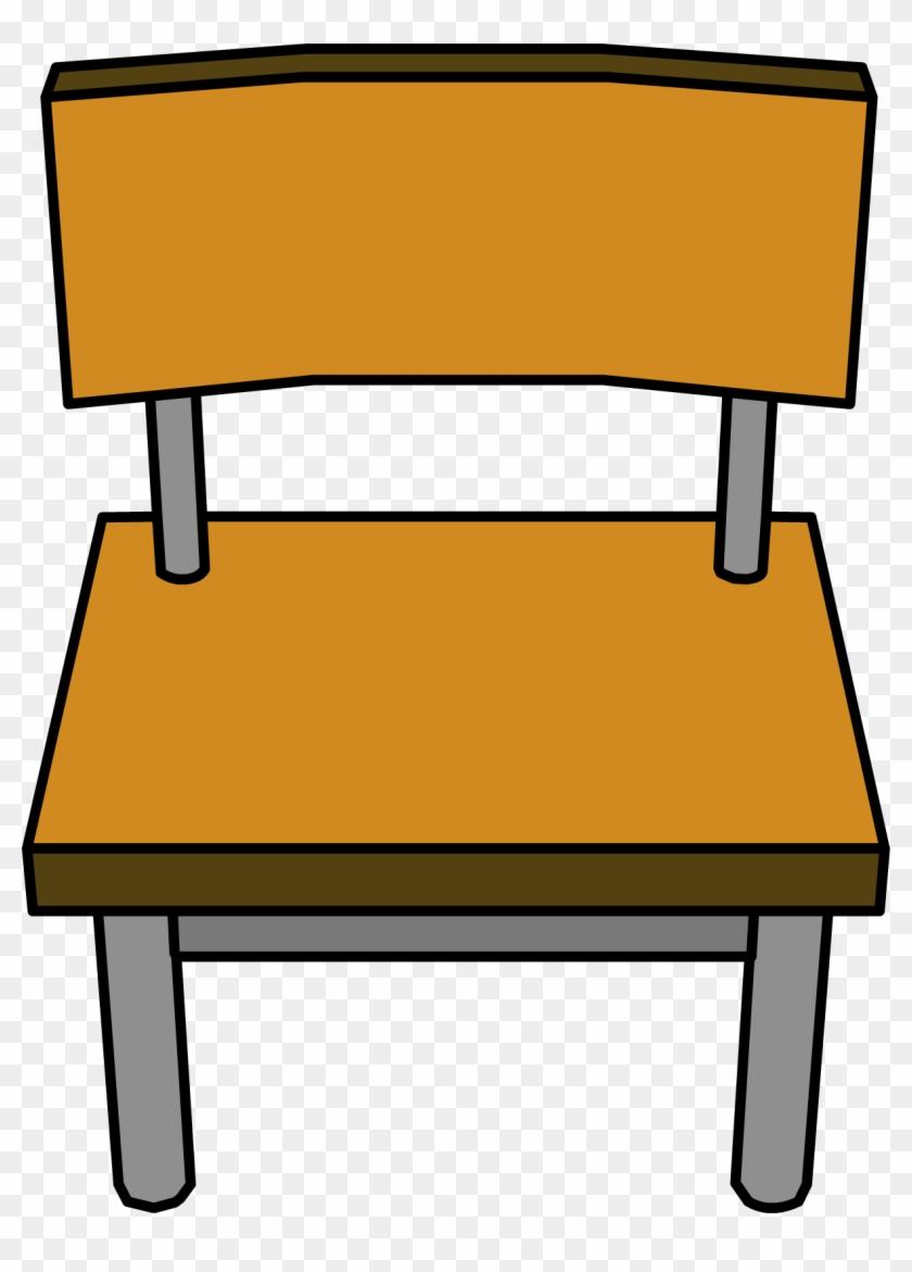 Classroom Chair - Png - School Chair Clipart #21559