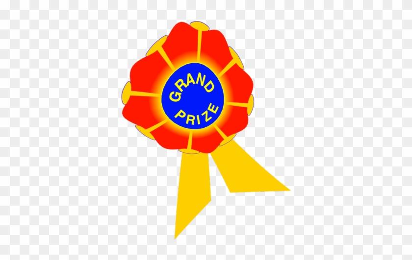 Grand Prize Clip Art Prize Table - Grand Prize Ribbon Clip Art #21562