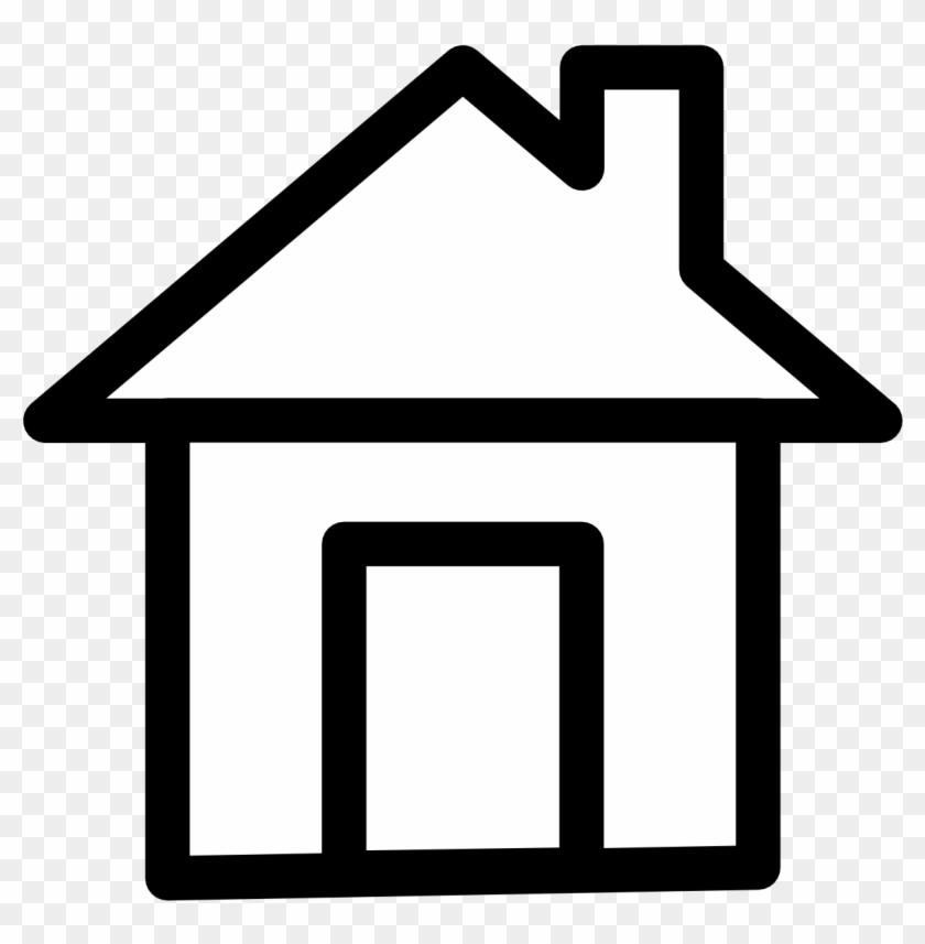 Yellow House Clip Art Icon - Dessin Adresse #21589