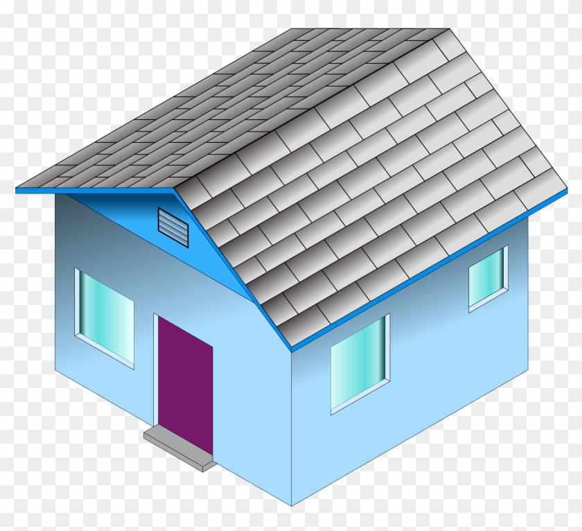 Best House Clipart   Small Office Building Clipart