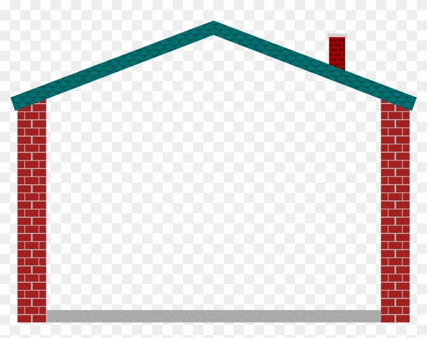 Clipart House Border Clip Art Borders - House Frame Clipart #21639