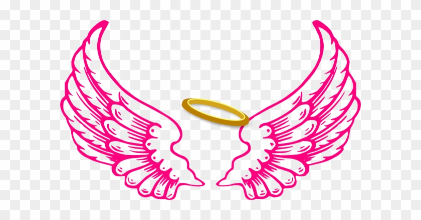 Angel Crown Clipart - Angel Wings And Halo #21650
