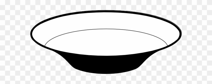 Fish Bowl Clip Art Black And White - Dish Black And White #21655