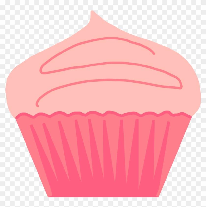 Cupcake Crown Cliparts - Pink Cupcake #21666
