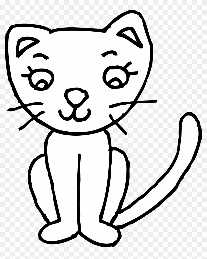 Clipart Info - Cat Clipart Black And White #21674