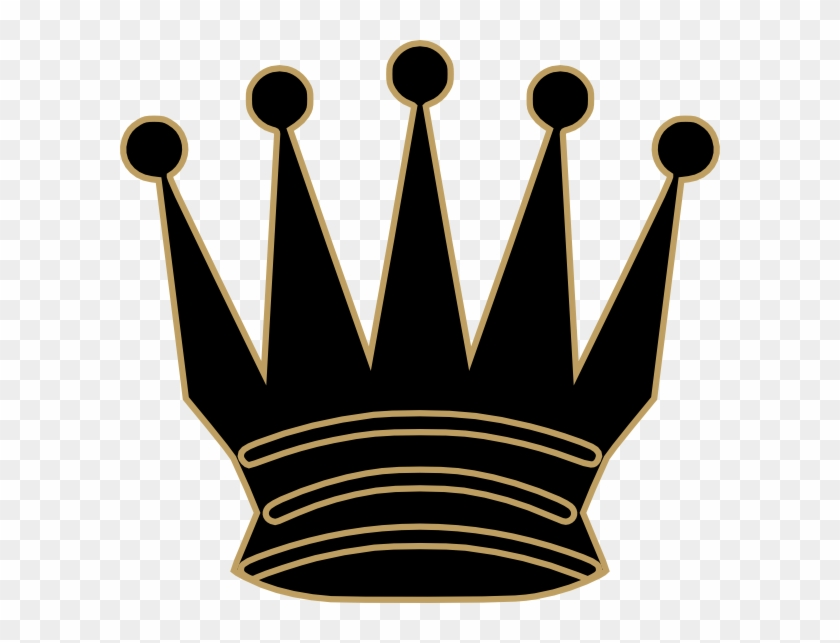 Gray Queen Crown Clip Art - Evil Crown Clipart #21677