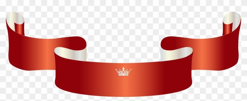 Banner Crown Advertising Clip Art - Banner Crown Advertising Clip Art #21707