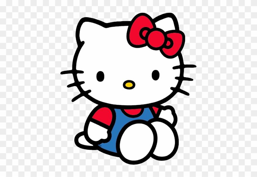 Kitty Clip Art - Hello Kitty Sitting Down #21752