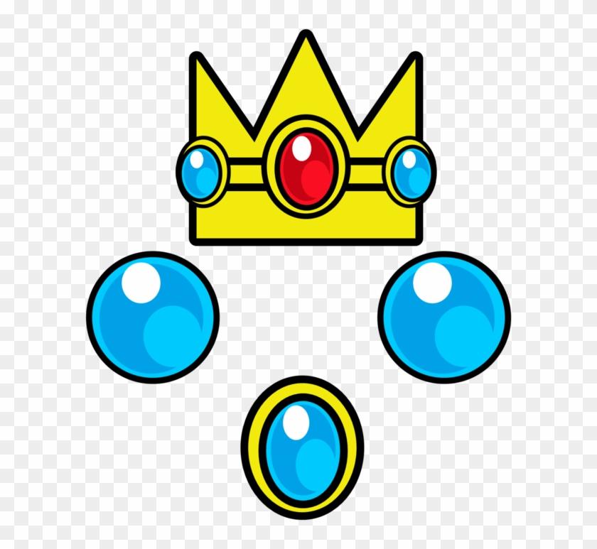 Princess Peach Jewels By Rafaelmartins On Deviantart - Logo Princess Peach Crown #21753