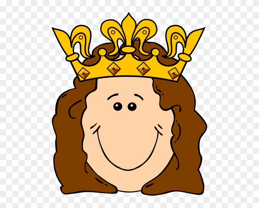 King And Queen Crowns Clipart Cartoon Queen With Crown Free Transparent Png Clipart Images Download The whole crown is covered with varnish.from behind there is a gold color rubber band for easier wearing the crown. queen crowns clipart cartoon queen