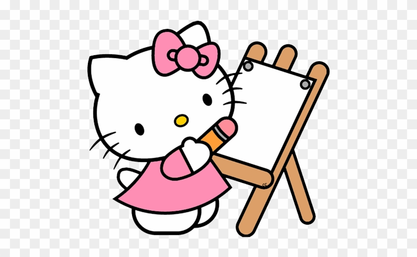 Hello Kitty Clip Art Images Cartoon - Hello Kitty Coloring Pages #21765