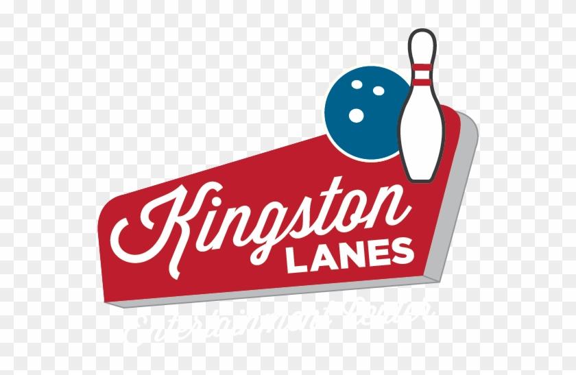 Kingston Lanes - Bowling Alley Logo #21781