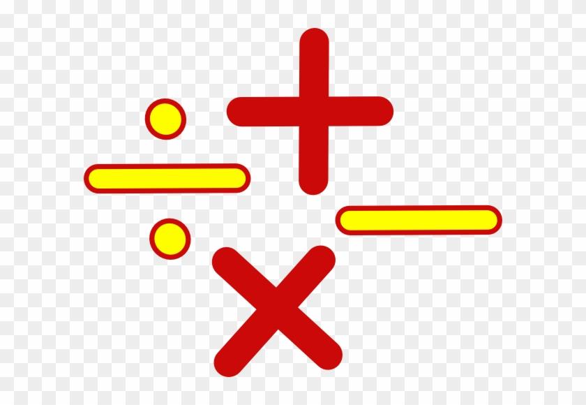 Math Signs Clip Art At Clker - Math Mark #21788