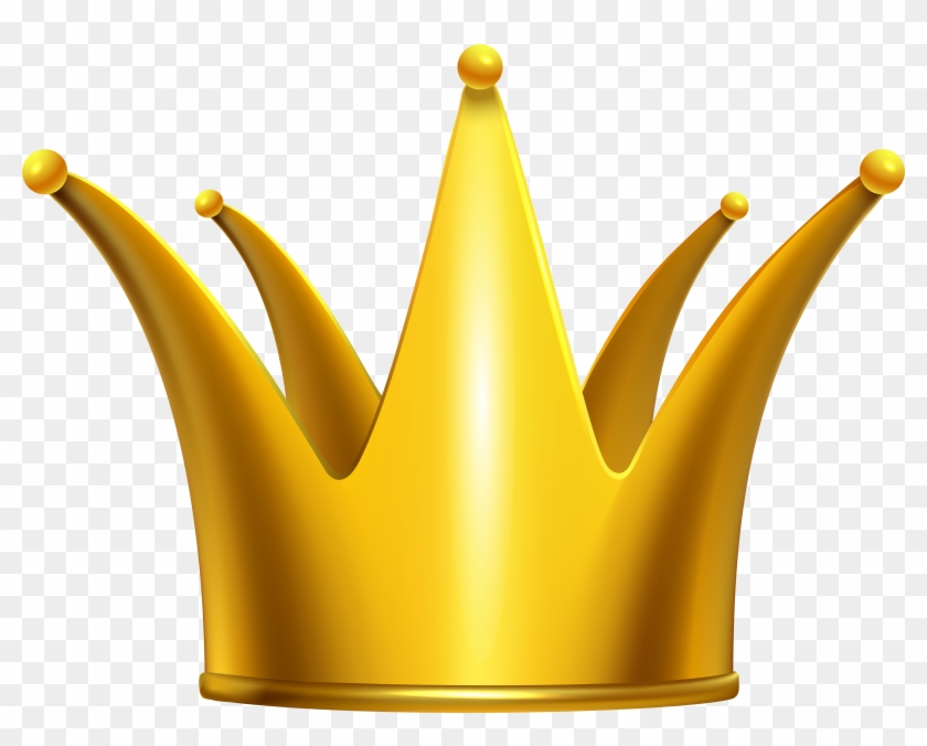 Golden Crown Clip Art Png Image - Gold Crown Clip Art Png #21845