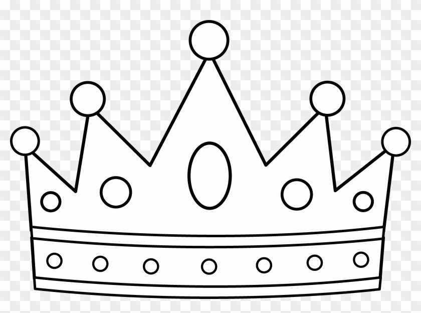 Royal Crown Coloring Page - King T Shirt Design - Free ...