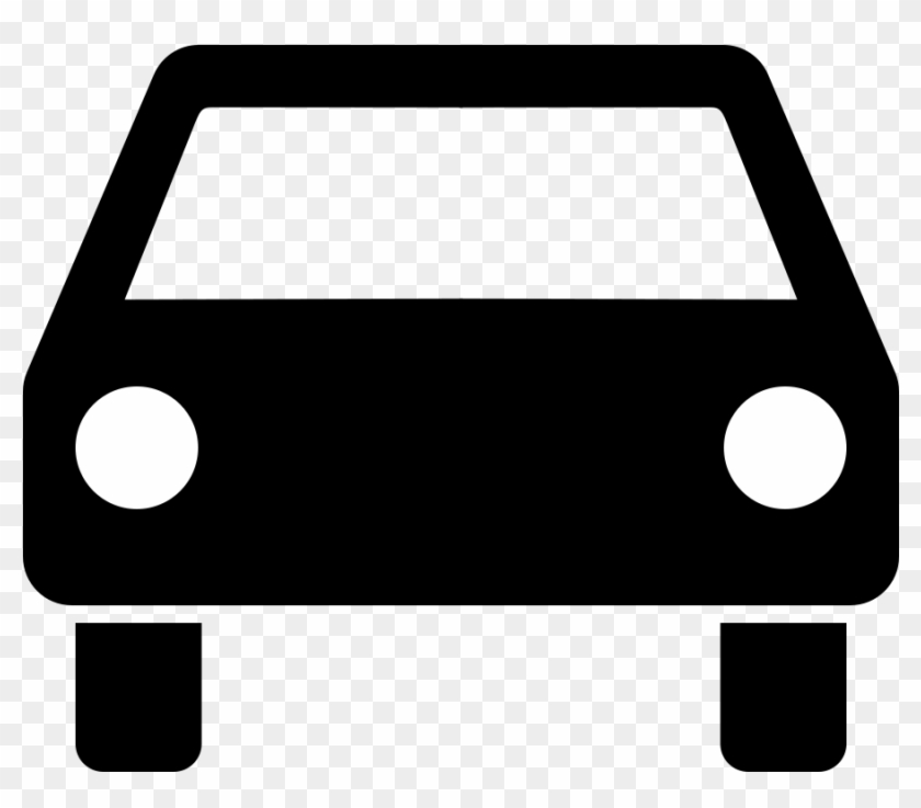 Front Of Car Clipart Kid - Pictogram Car #21863