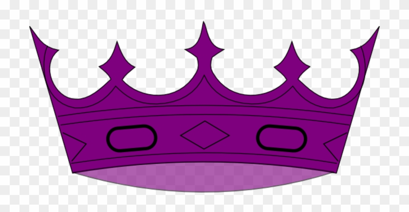 Purple Crown Clipart - Crown Clip Art Purple #21886