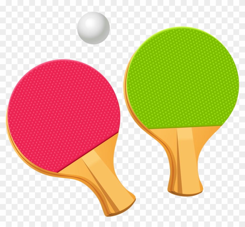 Ping Pong Png Images Free Download, Ping Pong Ball - Ping Pong Paddle Clipart #21900