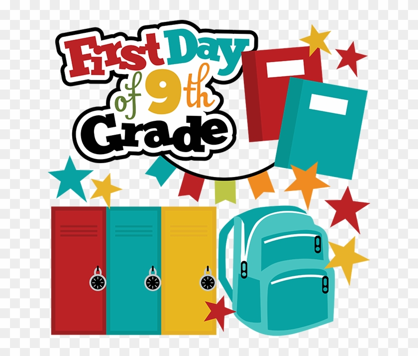 9th Grade Math Clipart - First Day Of 2nd Grade Clipart #21892