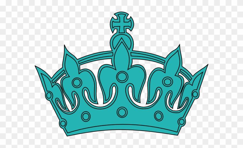 Keep Calm Crown Clip Art At Clipart Library - Keep Calm Crown Blue Png #21906