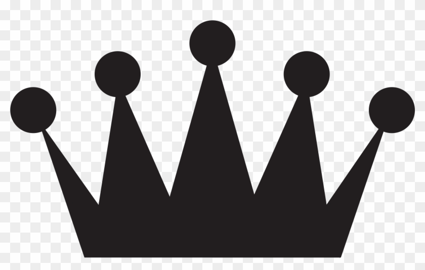 Crown - Clipart Black And White Png #21912