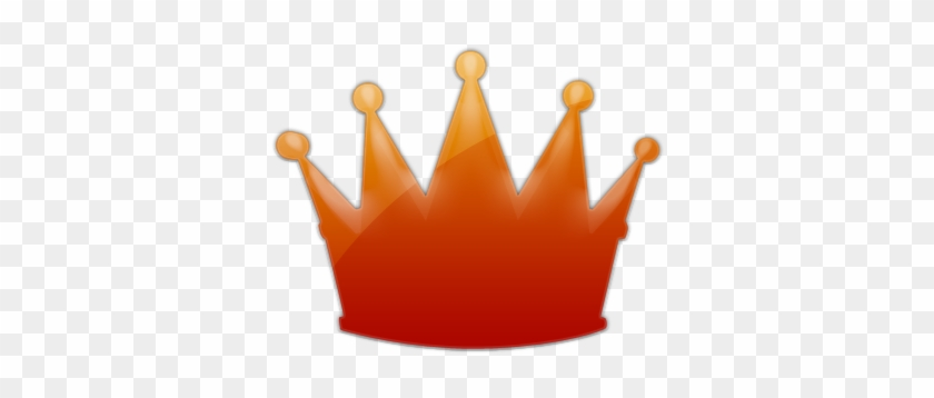 Red Crown Cliparts - Orange Crown Icon #21915